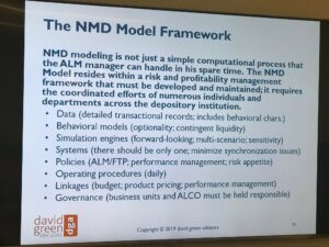 NMD Model Framework NMD Workshop Chicago May 2019 David Green Advisors