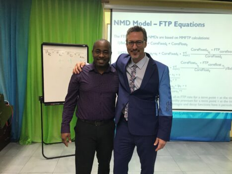 David and Omar ALM Workshop at Sagicor Bank Feb 2020